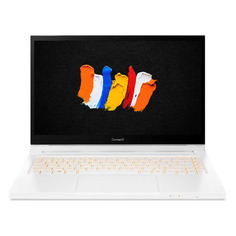 "Ноутбук-трансформер ACER ConceptD 3 Ezel Pro CC314-72P-78Y4, 14"", IPS, Intel Core i7 10750H 2.6ГГц, 16ГБ, 512ГБ SSD, NVIDIA Quadro T1000 - 4096 Мб, Windows 10 Professional, NX.C5KER.002, белый"