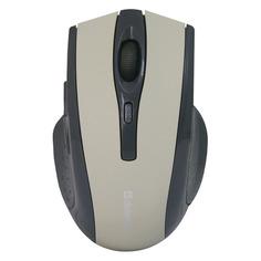 Мышь DEFENDER Accura MM-665, оптическая, беспроводная, USB, серый [52666]