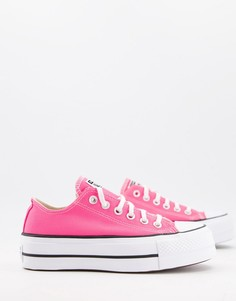 Розовые кроссовки Converse Chuck Taylor All Star Lift-Розовый цвет