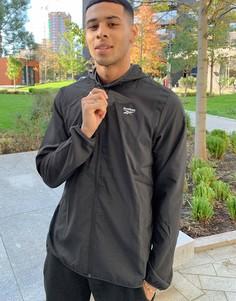 Черная спортивная куртка Reebok CL V FR-Черный