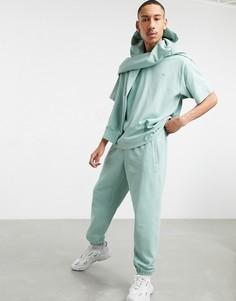 Бледно-зеленые джоггеры премиум-класса от комплекта adidas Originals-Зеленый цвет