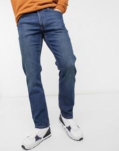 Синие джинсы прямого кроя Wrangler-Голубой