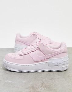 Розовые кроссовки Nike Air Force 1 Shadow-Розовый цвет