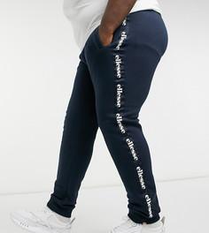 Темно-синие джоггеры с логотипом на лентах ellesse PLUS Teamanta-Темно-синий