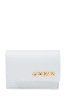 Белая поясная сумка из кожи La Ceinture Bello Jacquemus