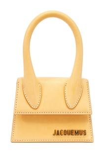 Светло-коричневая сумка Le Chiquito Jacquemus