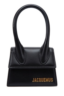 Черная кожаная сумка Le Chiquito Jacquemus