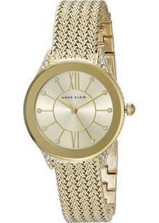 fashion наручные женские часы Anne Klein 2208CHGB. Коллекция Ring