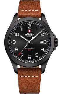 Швейцарские наручные мужские часы Swiss military SMA34077.05. Коллекция Automatic Collection