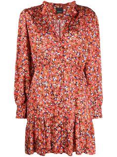 Pinko платье с цветочным принтом