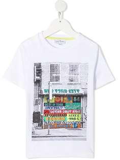 The Marc Jacobs Kids футболка с графичным принтом