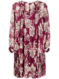 Dorothee Schumacher плиссированное платье с цветочным принтом