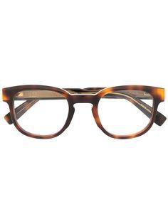 Dunhill очки черепаховой расцветки с логотипом