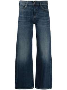 Emporio Armani укороченные джинсы прямого кроя