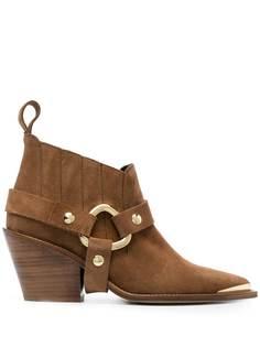 Zadig&Voltaire ковбойские ботинки NDricks