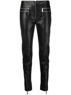 Just Cavalli байкерские брюки кроя слим