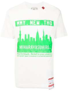 Maison Mihara Yasuhiro футболка с короткими рукавами