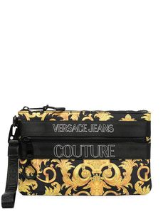 Versace Jeans Couture клатч с логотипом