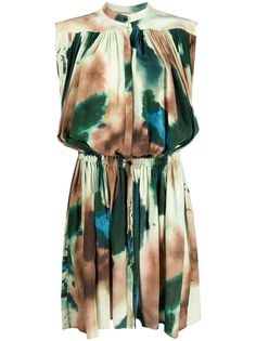 Lemaire платье с абстрактным узором