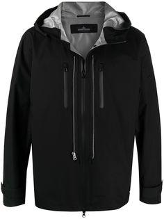 Stone Island Shadow Project непромокаемая куртка с капюшоном