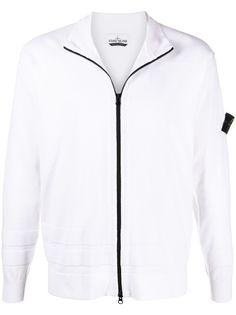 Stone Island куртка с контрастной молнией