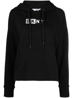 DKNY худи с кулиской и логотипом