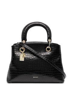 DKNY сумка-сэтчел Tonny с тиснением под крокодила
