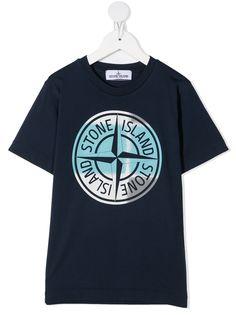 Stone Island Junior футболка с логотипом
