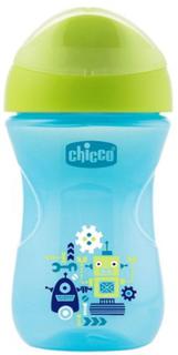 Поильник детский Chicco Easy Cup, 12+, 266 мл, робот (340624221) (00006961200050)