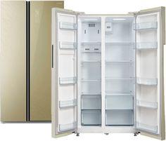 Холодильник Бирюса SBS 587 GG (бежевый)