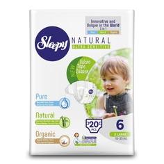 Подгузники Sleepy Natural Organic Baby Diaper (15-25 кг) шт.