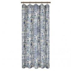 Штора на ленте для кухни «Город» 145x180 см цвет мультиколор Linen Way