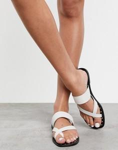 Белые сандалии с петлей для большого пальца Aldo-Белый