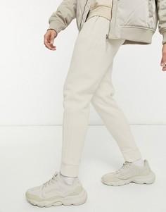 Неокрашенные джоггеры с тремя полосками adidas Originals adicolor-Белый