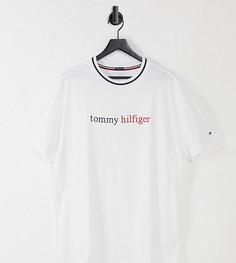 Белая футболка для дома с логотипом на груди Tommy Hilfiger – эксклюзивно для ASOS-Белый