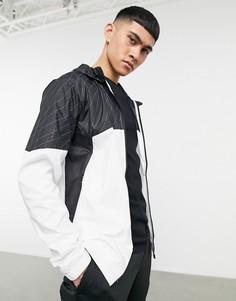 Куртка встиле колор блок скапюшоном и графическим принтом PUMA-Многоцветный
