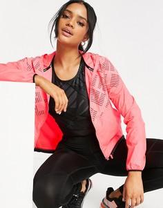 Розовая куртка с капюшоном Puma Last Lap-Многоцветный
