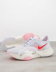 Серые кроссовки Nike Training Valentines SuperRep Go-Серый