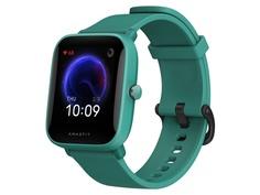 Умные часы Xiaomi Amazfit A2008 BIP U Pro Green Выгодный набор + серт. 200Р!!!