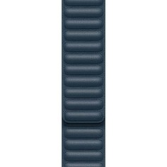Ремешок Apple 44mm Baltic Blue Leather Link Large (MY9L2ZM/A)
