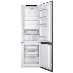 Встраиваемый холодильник комби SMEG C8174N3E