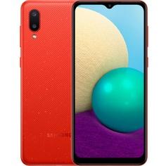 Смартфон Samsung Galaxy A02 32 ГБ красный