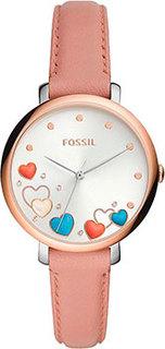 fashion наручные женские часы Fossil ES5065. Коллекция Jacqueline