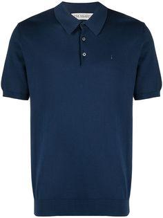 Trussardi рубашка поло с вышитым логотипом