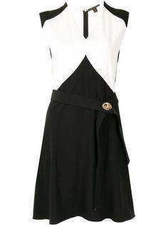 Louis Vuitton платье со вставками и поясом