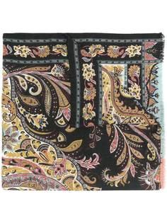 Etro шарф с принтом пейсли