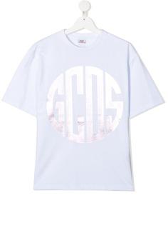 Gcds Kids футболка с логотипом