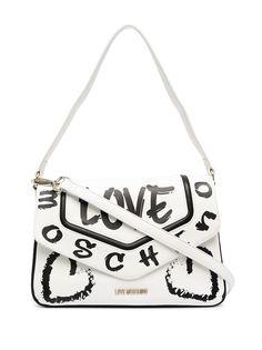 Love Moschino сумка-тоут из искусственной кожи с принтом