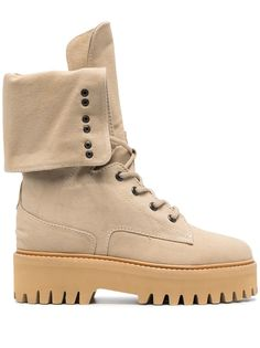 Dorothee Schumacher массивные ботинки на шнуровке