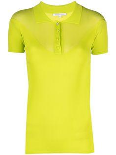 Patrizia Pepe трикотажная рубашка поло с короткими рукавами